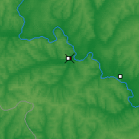 Nearby Forecast Locations - Bogoutchar - Carte