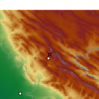 Nearby Forecast Locations - Ilam - Carte