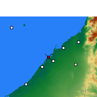 Nearby Forecast Locations - Ajman - Carte