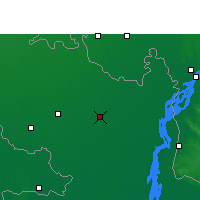 Nearby Forecast Locations - Rangpur - Carte