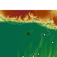 Nearby Forecast Locations - Sylhet - Carte