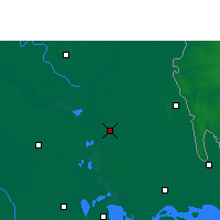 Nearby Forecast Locations - Chandpur Sadar - Carte