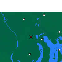 Nearby Forecast Locations - Barisal - Carte
