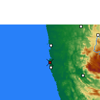 Nearby Forecast Locations - Colombo - Carte