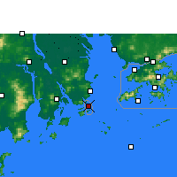 Nearby Forecast Locations - Macao - Carte