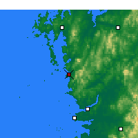 Nearby Forecast Locations - Boryeong - Carte