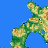 Nearby Forecast Locations - Suttsu - Carte