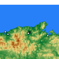 Nearby Forecast Locations - Toyooka - Carte