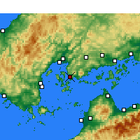Nearby Forecast Locations - Kure - Carte