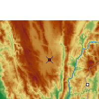 Nearby Forecast Locations - Loikaw - Carte