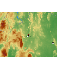 Nearby Forecast Locations - Loei - Carte
