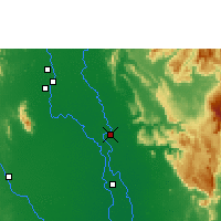 Nearby Forecast Locations - Phitsanulok - Carte