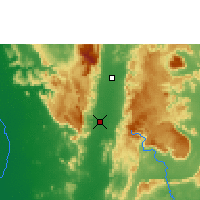 Nearby Forecast Locations - Phetchabun - Carte