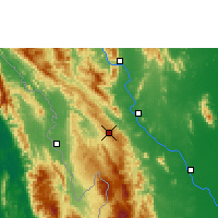 Nearby Forecast Locations - Doi Mu Soe Agromet - Carte