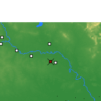 Nearby Forecast Locations - Roi Et - Carte