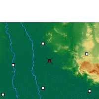 Nearby Forecast Locations - Ayutthaya Agromet - Carte