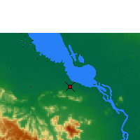 Nearby Forecast Locations - Krakor - Carte