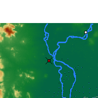 Nearby Forecast Locations - Phnom Penh - Carte