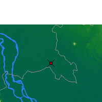 Nearby Forecast Locations - Svay Rieng - Carte