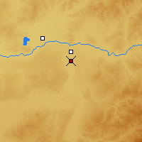 Nearby Forecast Locations - Ewenk. Zizhiqi - Carte