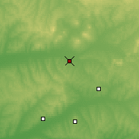 Nearby Forecast Locations - Wudalianchishi - Carte
