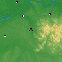 Nearby Forecast Locations - Acheng - Carte
