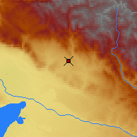 Nearby Forecast Locations - Altay - Carte