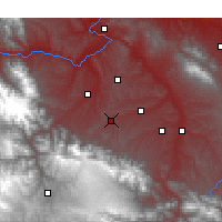 Nearby Forecast Locations - Hezheng - Carte
