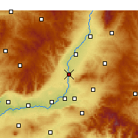 Nearby Forecast Locations - Xiangfen - Carte