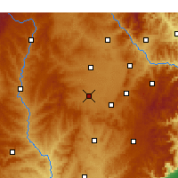 Nearby Forecast Locations - Changzi - Carte