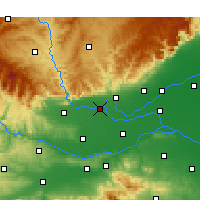 Nearby Forecast Locations - Qinyang - Carte