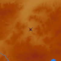 Nearby Forecast Locations - Xilinhot - Carte