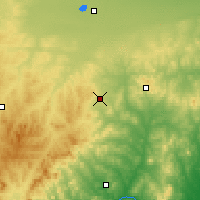 Nearby Forecast Locations - Baoguotu - Carte