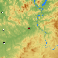 Nearby Forecast Locations - Huadian - Carte