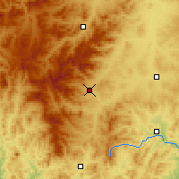 Nearby Forecast Locations - Balihan - Carte