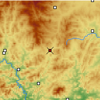 Nearby Forecast Locations - Pingquan - Carte