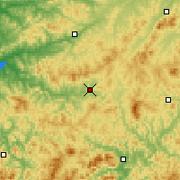 Nearby Forecast Locations - Xinbin - Carte