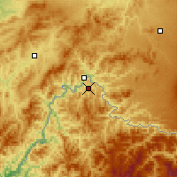 Nearby Forecast Locations - Linjiang - Carte