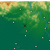 Nearby Forecast Locations - Fengrun - Carte