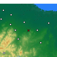 Nearby Forecast Locations - Changle - Carte