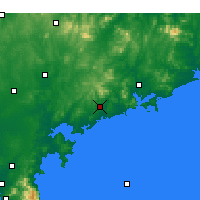 Nearby Forecast Locations - Haiyang - Carte