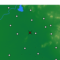 Nearby Forecast Locations - Jiaxiang - Carte