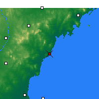 Nearby Forecast Locations - Rizhao - Carte