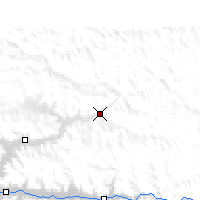 Nearby Forecast Locations - Kunggar - Carte