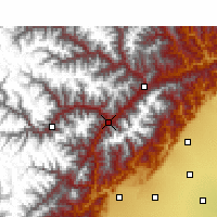 Nearby Forecast Locations - Wenchuan - Carte