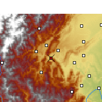 Nearby Forecast Locations - Ya'an - Carte