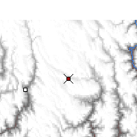 Nearby Forecast Locations - Daocheng - Carte