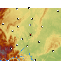Nearby Forecast Locations - Qingshen - Carte