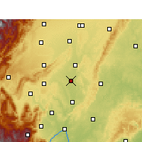 Nearby Forecast Locations - Meishan - Carte