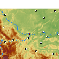 Nearby Forecast Locations - Yibin - Carte